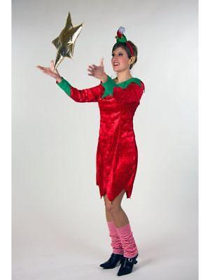 Kostüm für Erwachsene Weihnachtselfe Karneval Kostüm - Elf Kostüm Für Weihnachten