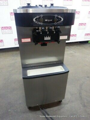 3 - Phase 1 Taylor Freezer Model C713 Twin Twist Soft Serve Machine Wagitator
