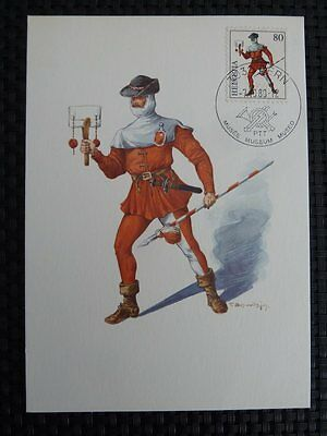 SCHWEIZ MK 1974 1023 STANDESLÄUFER MAXIMUMKARTE CARTE MAXIMUM CARD MC CM 9686