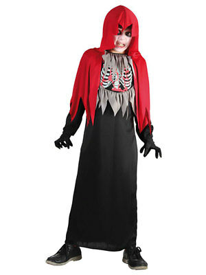 Kinderkostüm luxe Halloween Zombie Horror Kid (7-9 Jahre) Fasching (Kid Zombie Kostüm)