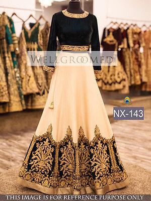Ghagra Choli Wedding Charming Awesome Looking Bridal Indian color Lehenga Choli