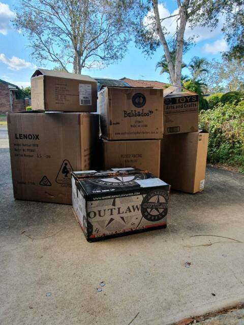 Moving/packing/storage style boxes | Miscellaneous Goods ...