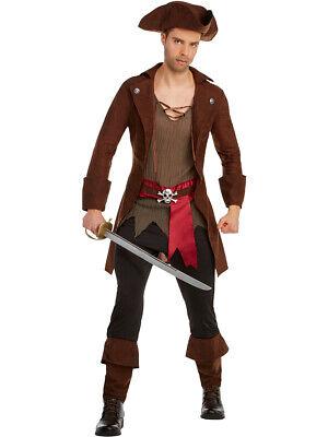 High Seas Swashbuckling Pirate Sea Captain Men's Costume