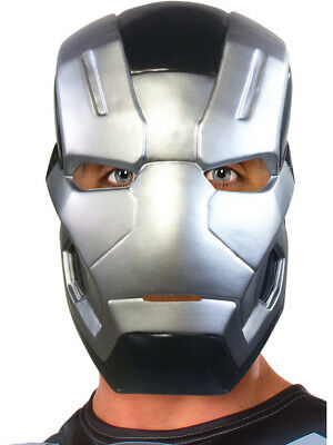 Adults Marvel Captain America Civil War War Machine 1/2 Mask Costume Accessory - Captain America Costume Adults