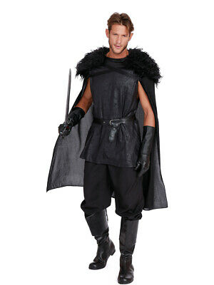 Adult's Mens Medieval Snow King Of Thrones Costume](Medieval King Costumes Adults)