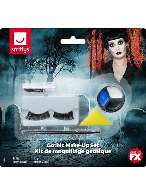 Gothic Puppe Voodoo Puppe Halloween Kostüm Gesichtsfarbe Make-Up - Puppe Halloween Make Up