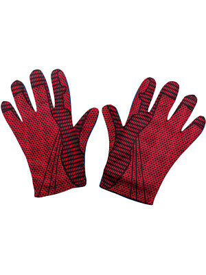 Adults Marvel Amazing Spiderman Gloves Costume Accessory