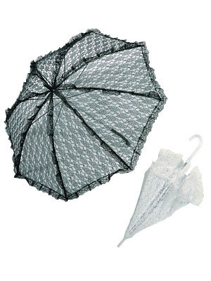 Kostüme Sonnenschirm (Sonnenschirm aus Spitze Accessoires Kostüm Barock)