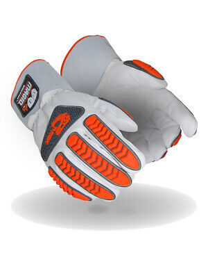 Magid T-rex Inferno Series Trx848 Fr Goatskin Welders Impact Glove Cut A4