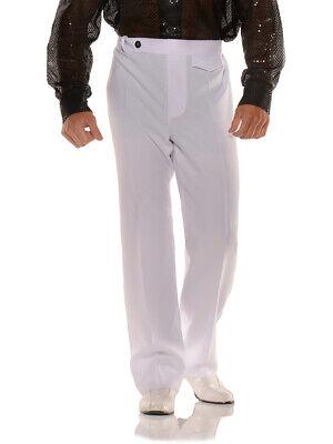 Men's Stylin' 70s White Disco Costume Pants](Disco Costumes For Men)