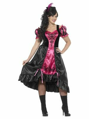 SMIFFY 26529 Saloon Girl Curves Sassy Tänzerin Wild - Wild West Kostüm