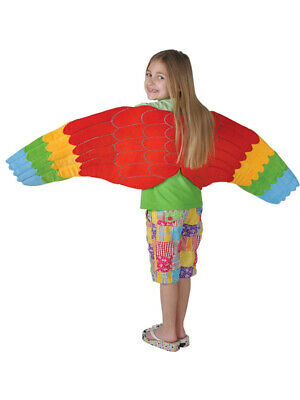 Child Full Length Bird Costume Accessory Parrot Wings - Parrot Costume Wings