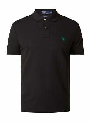 Polo Ralph Lauren Slim Fit Poloshirt schwarz Gr. M NEU!