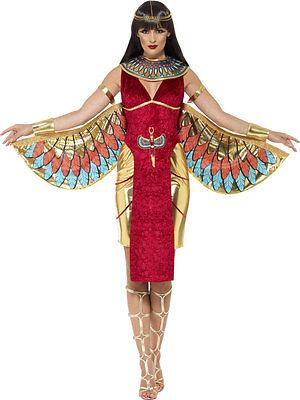 Isis Ägyptische Göttin Kostüm NEU - Damen Karneval Fasching Verkleidung Kostüm