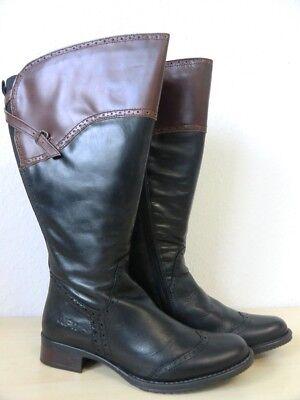 Damen Weitschaft Stiefel von JJ Footwear – 4-5XW (XXL) – Größe 38 – 614/017/01