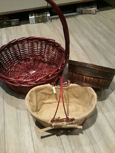 Quality Assorted Baskets 3 for $10