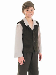 BOYS-URCHIN-BOY-CHIMNEY-SWEEP-POOR-VICTORIAN-OLIVER-TWIST-FANCY-DRESS-COSTUME