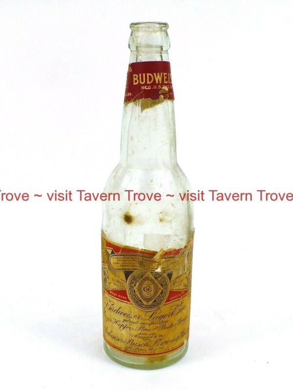 1900s Anheuser CARL CONRAD Anheuser Busch BUDWEISER BEER Bottle Tavern Trove