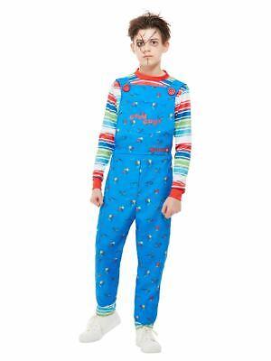 Chucky, Boys Halloween Fancy Dress Costume, Small Age 4-6