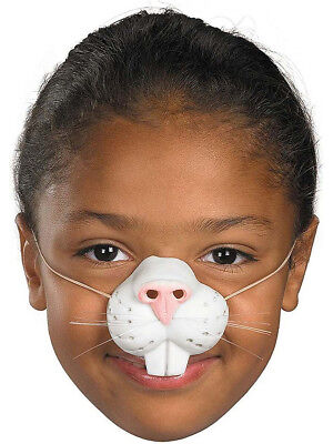 Child Rubber Rabbit Easter Bunny Nose Costume Accessory Mask - Easter Bunny Costume Child