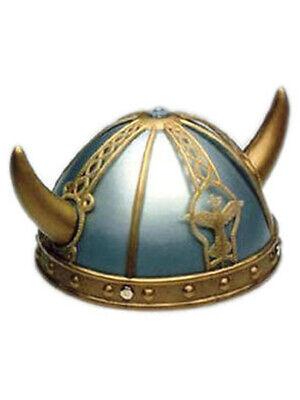 Childrens Viking Helmet (Adult/Child Costume Accessory Viking Helmet and)