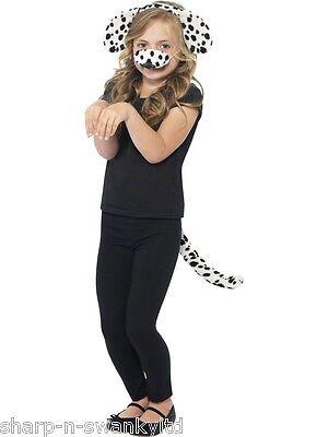 Mädchen Jungen 101 Dalmatiner Zubehör Set Büchertag Kostüm Verkleiden - 101 Dalmatiner Mädchen Kostüm