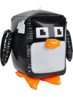 Inflatable Pixel Animal Penguin Beach Swimming Pool Party Favor Toy