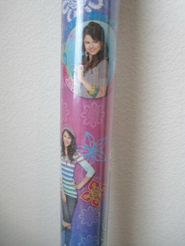 One(1) Wizards of Waverly Place Gift Wrapping Paper 20 sq ft Roll Party Supplies