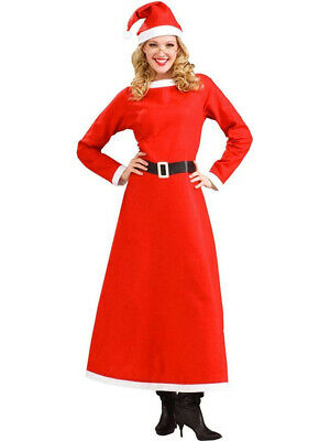 Traditional Simply Mrs Santa Claus Christmas Costume - Mrs Santa Claus Costume