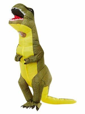 Hinchable Dinosaurio Adulto Disfraz Lujo Hombre Mujer Novedad Disfraz Santificar