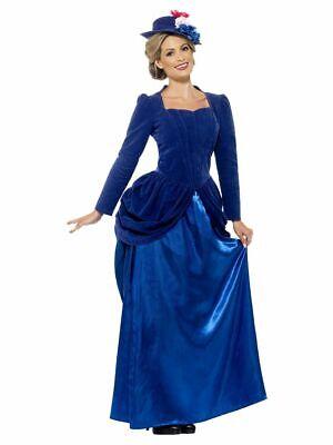 SMIFFY 43420 Viktorianische Lady Edeldame Xanthippe  Karneval Damen Kostüm - Viktorianische Dame Kostüm