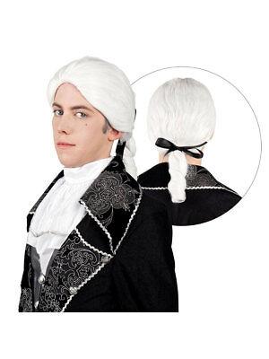 . JH für Männer Weiß Party Kostüm Accessoires (Kostüm Perücken Für Männer)
