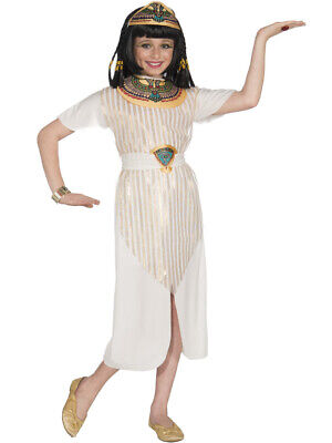 Child's Girls Egyptian Queen Of The Nile Cleopatra Dress