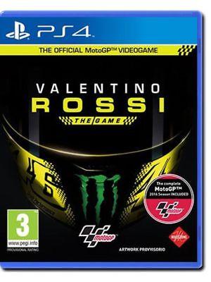 VIDEOGIOCO VALENTINO ROSSI THE GAME PS4 UFFICIALE MOTO GP ITALIANO PLAYSTATION 4