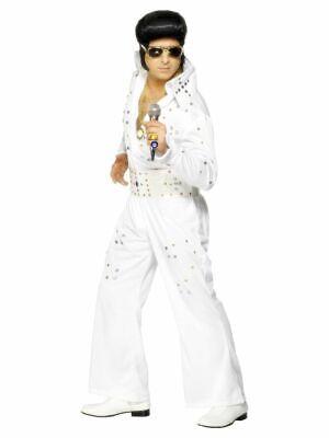 SMIFFY 29142 50er Elvis Rock`n Roll Musik Star Karneval Herren Kostüm M L - Rock Musiker Kostüm