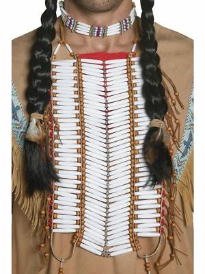 SMI - Kostüm Zubehör Indianer Brustplatte Halsschmuck Karneval