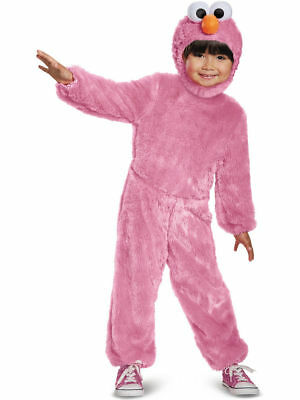 Pink Elmo Sesame Street - Dress Up - Halloween Toddler Costume - Size: L - Elmo Toddler Costume