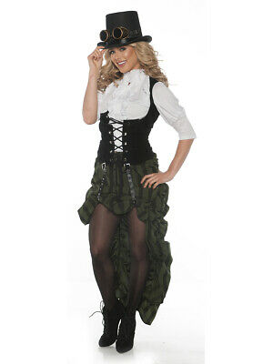 Women's Steampunk Blouse and Skirt - Steampunk Costumes Women