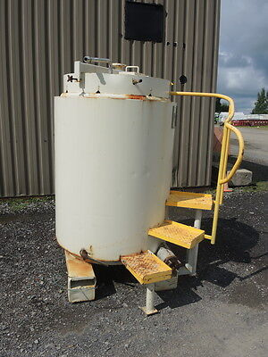 270 Gallon Stainless Steel Tank Tote With Heatingcooling Coil