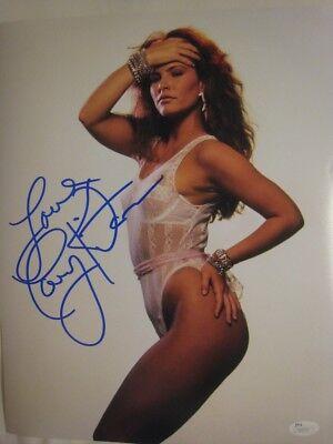 Tawny Kitaen Signed Gorgeous 11x14 Photo - JSA COA - Whitesnake Video Vixen