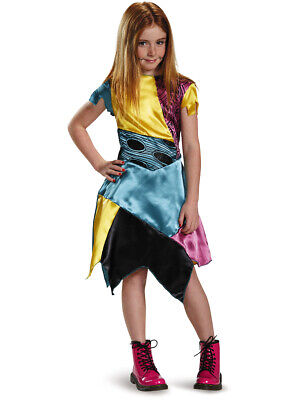 Girls Nightmare Before Christmas Sally Stitched Doll Classic Costume