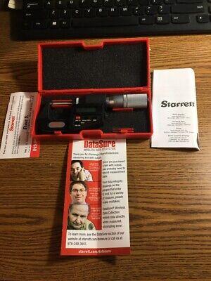 Starrett 788xfl Digital Electronic Micrometer Sb1066586