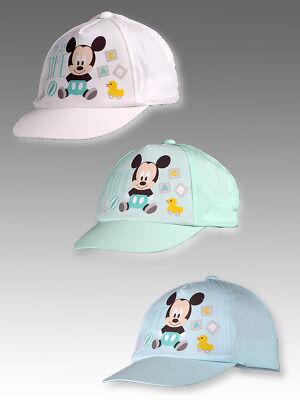 Disney Baby Mickey  Baseball  Baseball Hut Caps Mütze Gr. 48,50