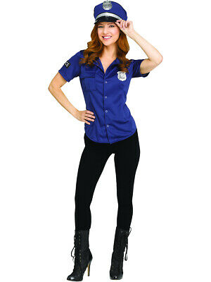 Adult's Womens Officer Of The Law 'N' Order Shirt Costume](Womens Police Shirt Costume)