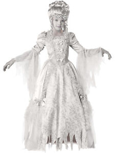 Deluxe Victorian Corpse Countess Girls Child Costume Dress Size 16