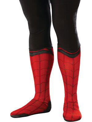 Adult's Spider-Man Far From Home Spider-Man Boot Tops Costume Accessory