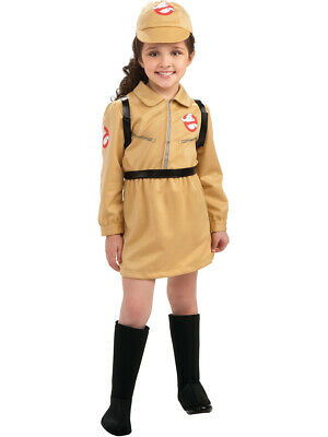 Girls Ghostbusters Ghost Buster Girl  Costume