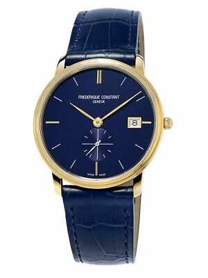 Frederique Constant Slimline Men's Quartz Caliber 10 Jewel 37mm Watch FC-245N4S5