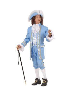 Kostüm 18. Jh englischer Adliger blau Gr.L - Englisch Kostüm