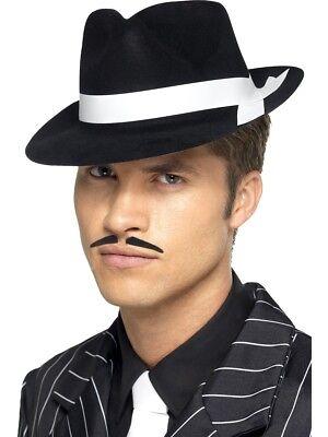 Al Capone Hut Herren 1920er Jahre Gangster Kostüm Zubehör 20er -